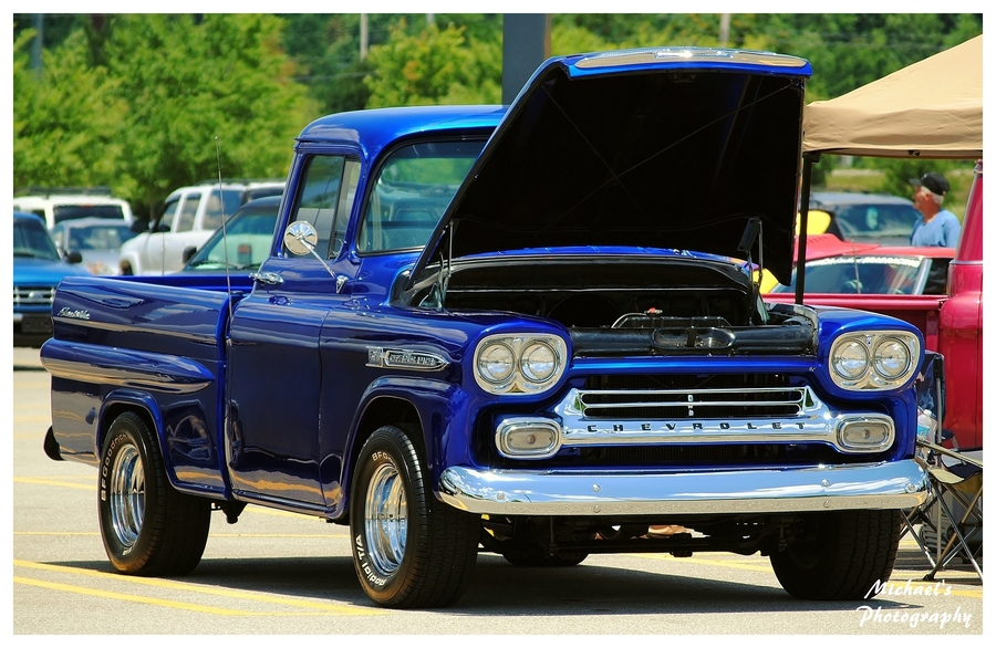 Auto and Cycle Chevrolet Apache Truck