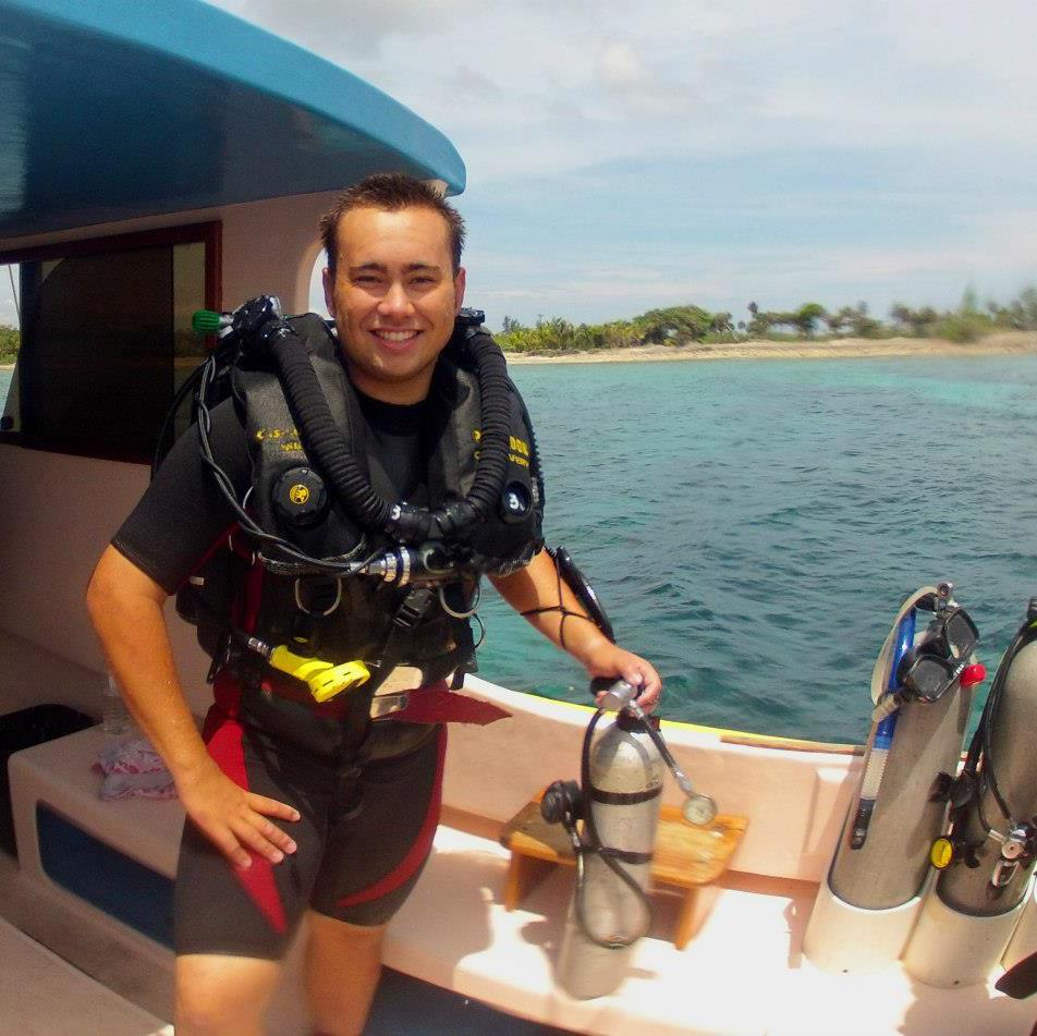 Scuba Rebreather diving in Utila!