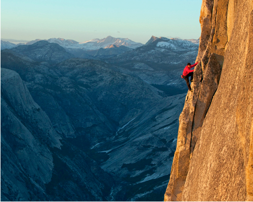 "Climbing ""Free soloing is climbing taken to its furthest extremes. And Alex Honnold is the sport's rock star. Is he mad, or stupid, or just totally mellow?""