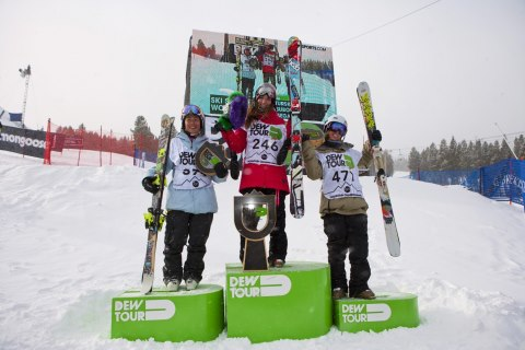 Ski Congratulations to The North Face Canadian Athlete Yuki Tsubota, 2nd. place at Dew Tour 2012 in Freeski SlopeStyle.   Via www.allistour.com