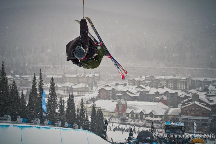Ski Allen, C. at The North Face Park and Pipe Open Series superpipe finals.  Watch the full event on CBS Sports, 12/23, 1pm EST. Find out more at www.thenorthfaceppos.com