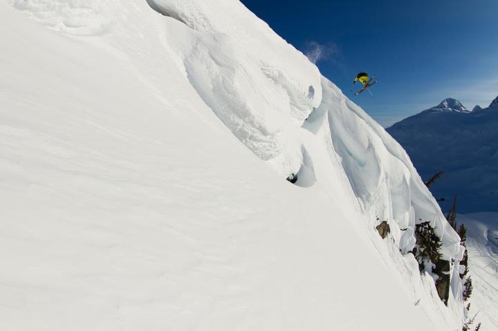 Ski Dana Flahr, Canada. Photo: Adam Clark.  Check out this season's skiing and snowboarding gear at TheNorthFace.com: Skiing: http://bit.ly/QXv412 Snowboarding: http://bit.ly/TezBuf