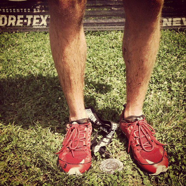 Fitness Jordan McDougal wins the Gore-Tex 50 Mile race wearing his Hayasas. #inspiring #ultrarunner