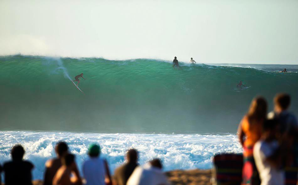 Surf When Pipeline awakens... Monster Energy surfer Mark Healey is there to tackle the beast!