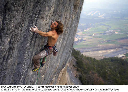 Climbing Chris Sharma's impossible ascent.