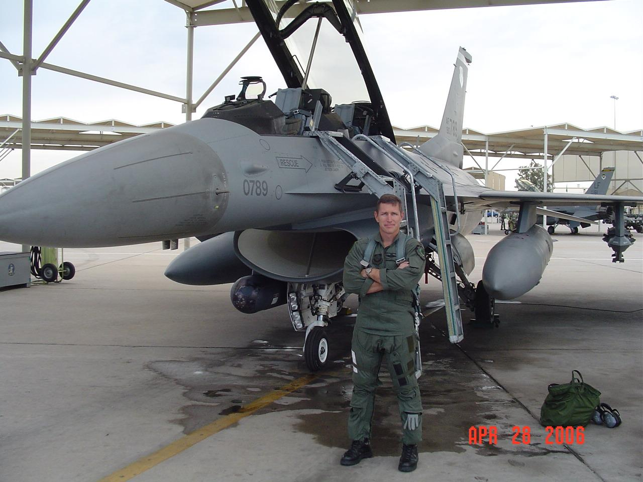 Guns and Military F-16B...fast and furious