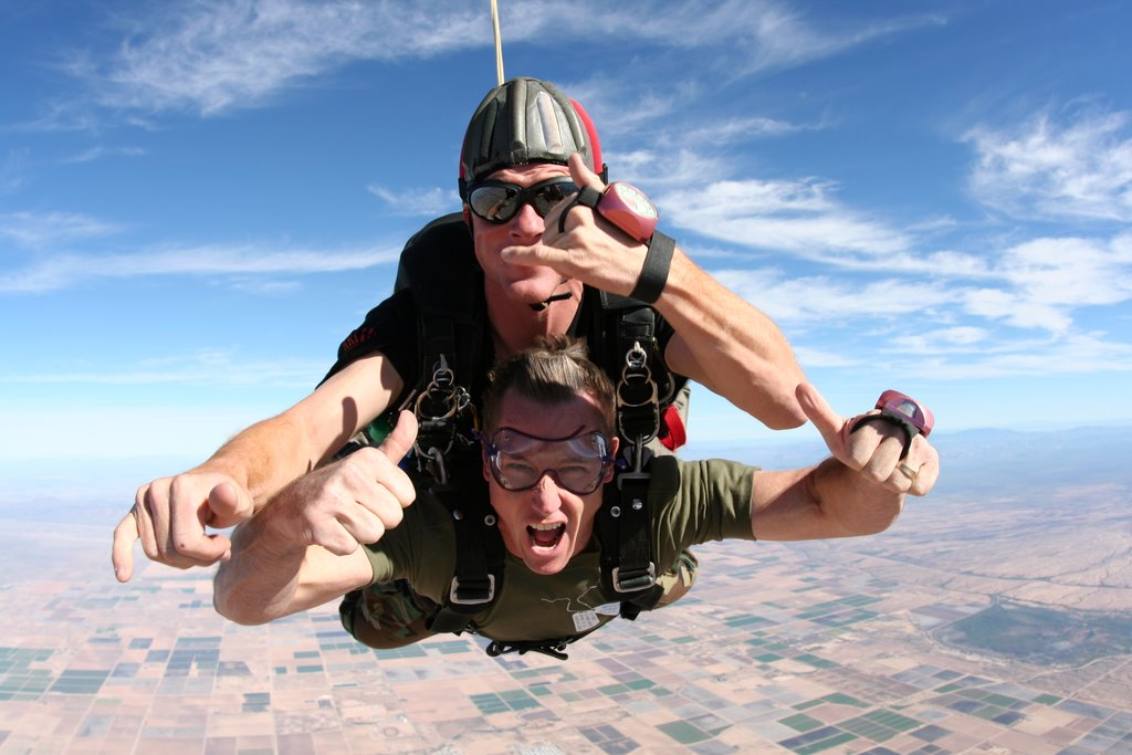 Guns and Military Tandem Jump