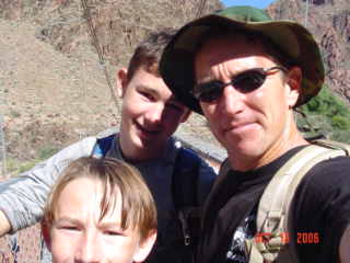 Camp and Hike Grand Canyon... rim to rim to rim with the boys