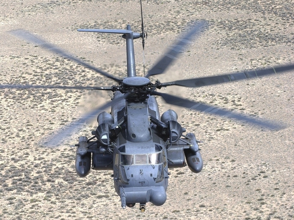 Guns and Military The Mighty Pave...MH-53M
