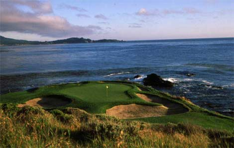 Golf Pebble Beach...  it's okay to dream