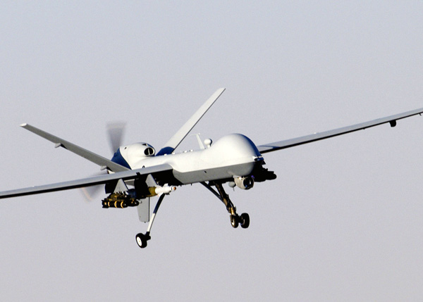 Guns and Military MQ-9 Reaper