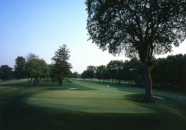 Golf Winged Foot G.C. (West)(Hole No. 2) Mamaroneck, N.Y.