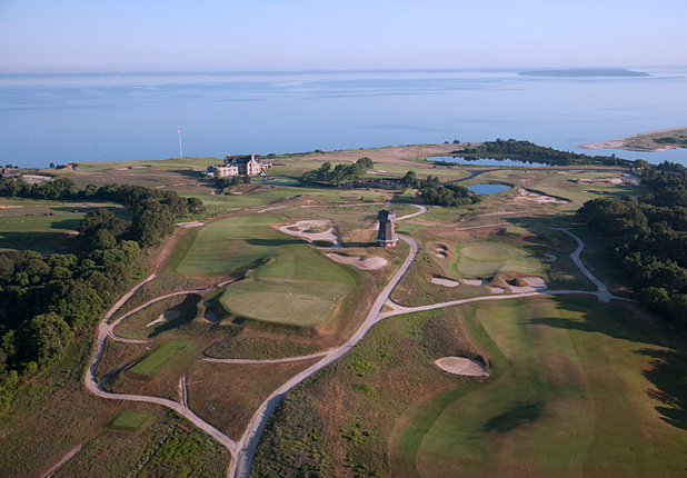 Golf National Golf Links of America(Holes No. 2 and 16) Southampton, N.Y.