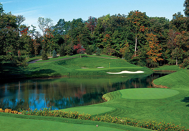 Golf Muirfield Village G.C.(Hole No. 12) Dublin, Ohio