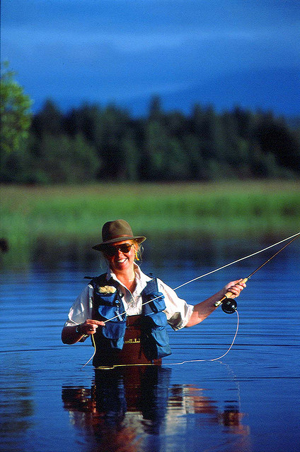Flyfishing fly fish maine...want to do it