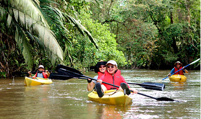 Kayak and Canoe Costa Rica Jungle