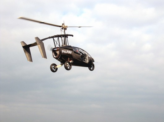 Auto and Cycle PAL-V flying car makes successful first test flight
