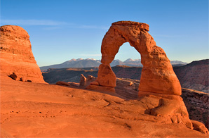 Camp and Hike arches national park...