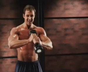 Fitness You cant tell me that a shake weight will make you look like that.