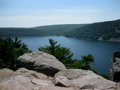 Climbing Devil's Lake is Wisconsin's largest and most popular state park