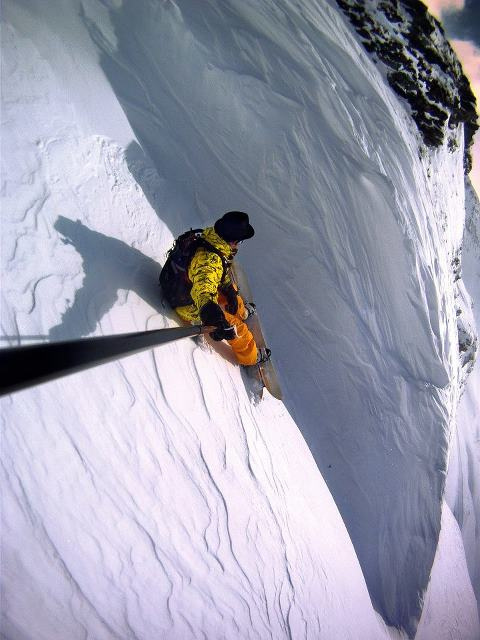 Climbing vertical limit...
