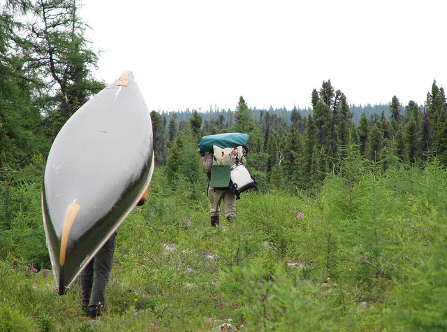Kayak and Canoe portage