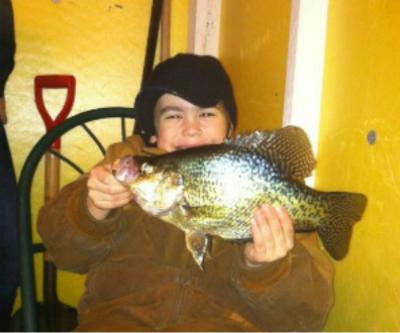 Fishing Crappie fishing on Lake of the Woods 2012