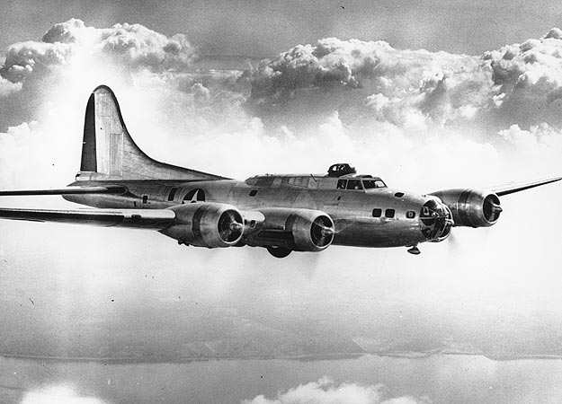 Guns and Military Dad got a ride home in a Boeing B-17 Flying Fortress after WWII