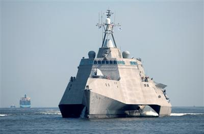 Guns and Military The littoral combat ship Independence (LCS 2)