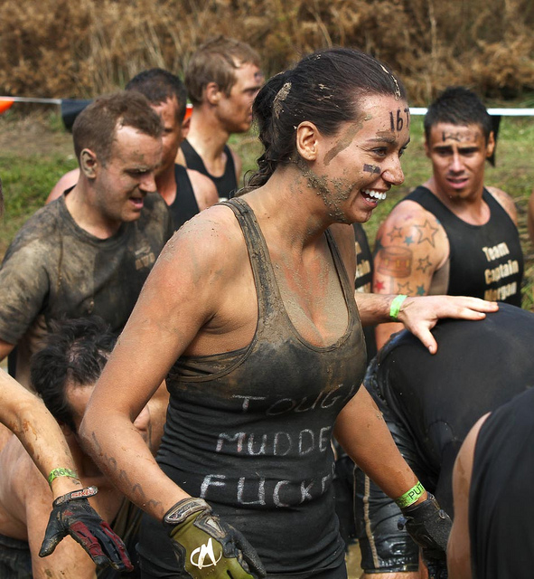 Fitness Tough Mudder event at Phillip Island 31/3/12