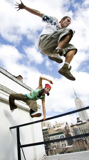 Parkour Free Running... a new sport