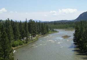 Camp and Hike Russell Gates campground on Blackfoot River