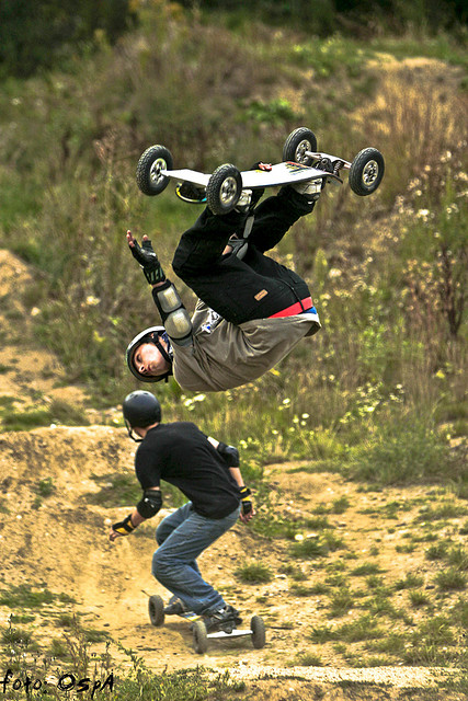 Skateboard Backflip - yep, sick