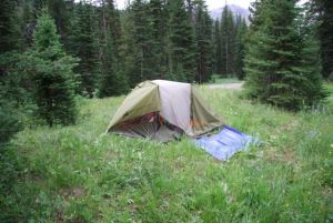 Camp and Hike One of the Montana campsites where a series of three July 28 grizzly attacks culminated with the death of one campe