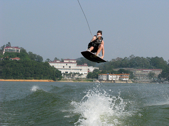 Wake wakeboard trip to china