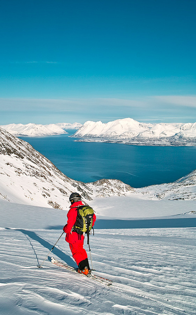 Ski Lyngen Alps, Northern Norway