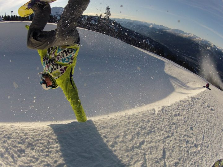 Snowboard awesome gopro pic..