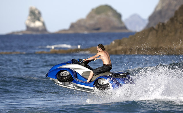Wake 4 wheeler jet ski in one!