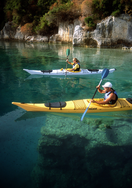 Kayak and Canoe want to go ...