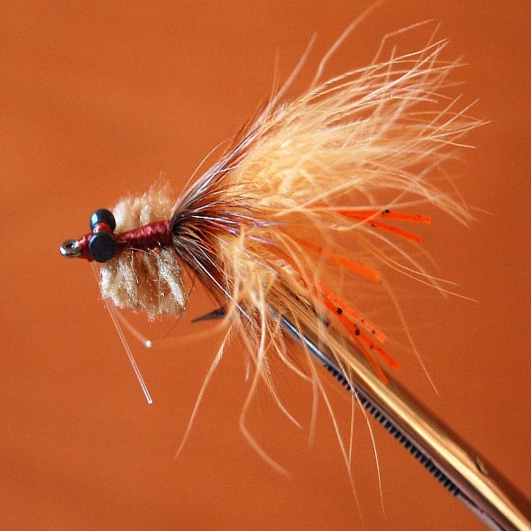 Flyfishing Sili Toad (Tan)