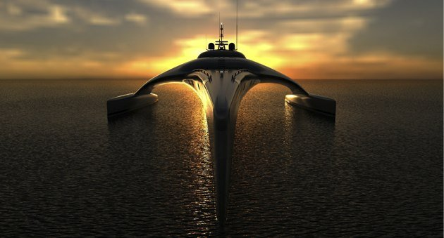Extreme Adastra super yacht is a one-of-a-kind aquatic marvel