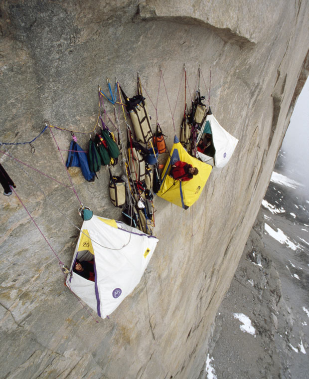 Climbing Is this extreme camping and rock climbing?