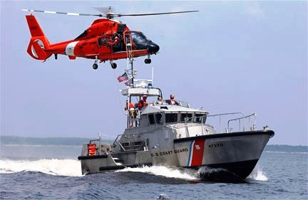 Guns and Military coast guard on duty