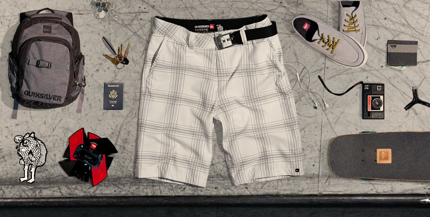 Wake Quiksilver board shorts