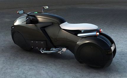 Auto and Cycle ICare Motorcycle Concept