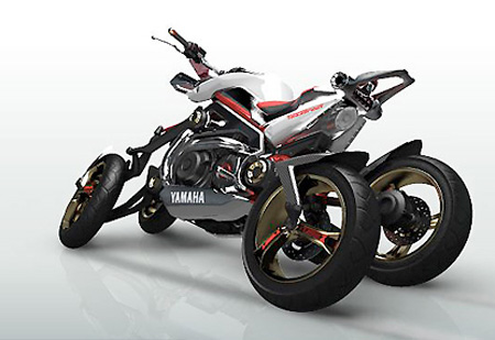 Auto and Cycle Yamaha Tesseract Four Wheel Motorcycle