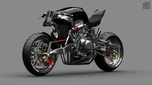 Auto and Cycle Fallout Motorcycle Concept