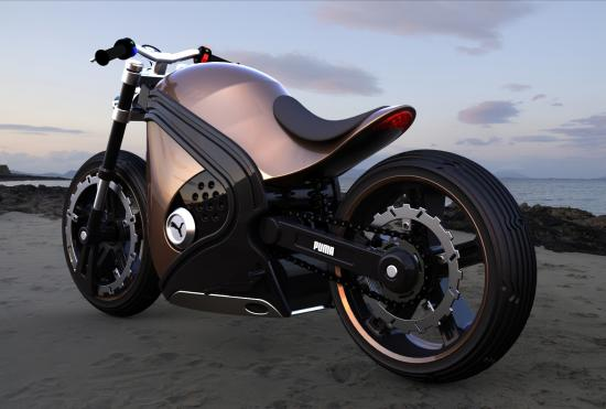 Auto and Cycle Puma Motorcycle Concept