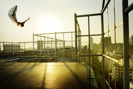 Extreme reerunning and parkour might be one of the most photogenic sports around