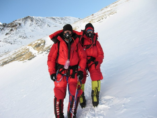 Climbing Mountaineering started as an extension of hiking for my husband and I